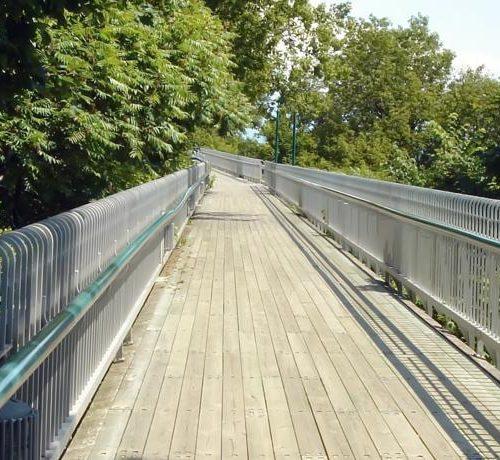 Pont de marche Québec