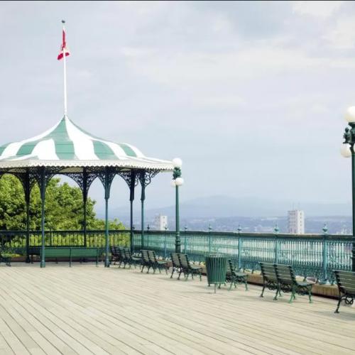 Terrasse bed et breakfast Québec